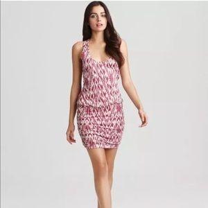 Soft Joie tank Dress Small Pink Bond Ikat Cotton